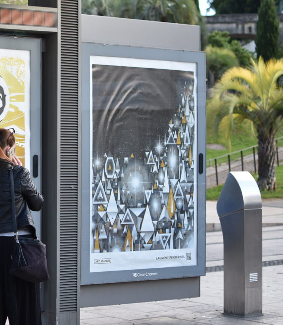 Gab-Affiche-Art-Station-2018-Laurent-Peybernes-Montpellier