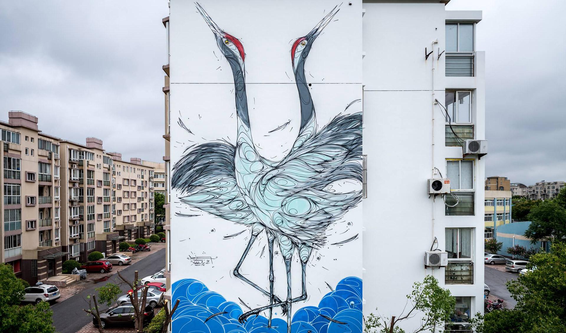 Présentation de l'artiste DZIA Art Station 2018 Montpellier Corum Affiches Art Station 2018