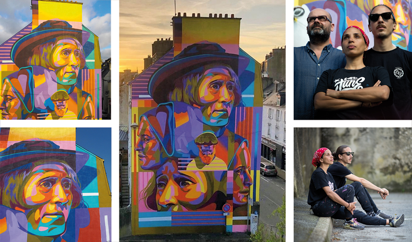 Laurent Sanchez Street Art Avenue DOURONE