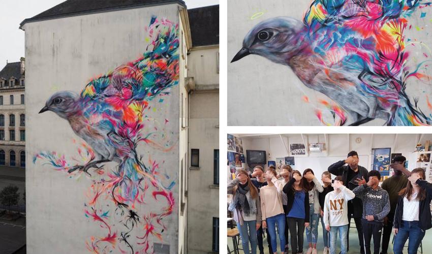 L7m VANNES Street Art Avenue Laurent Sanchez