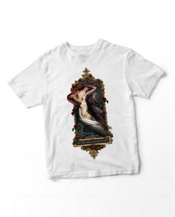Benedicte La ligne 29 Concours T Shirt Print Tee's Cercle Rouge Granit Shop Montpellier