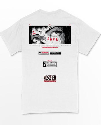 Nui Vagab Artiste Montpellier t shirt Cercle Rouge