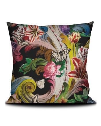 Voglio Bene - Fleur de Rocaille Housse de Coussin 50x50