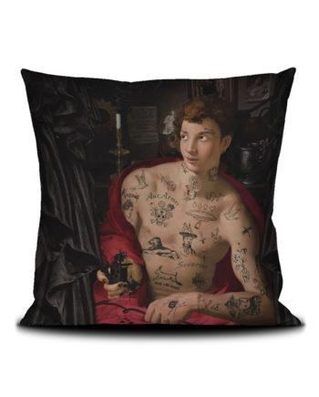 Voglio Bene - Le Tatoueur Housse de Coussin 50x50