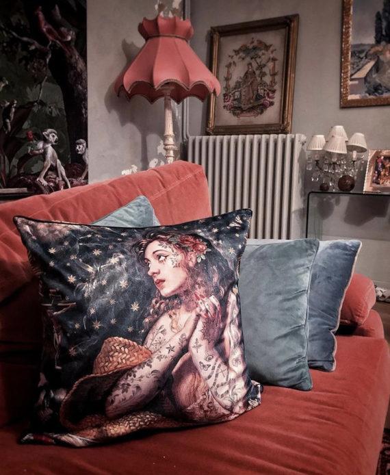Voglio Bene - Marie Madeleine Housse de Coussin 50x50