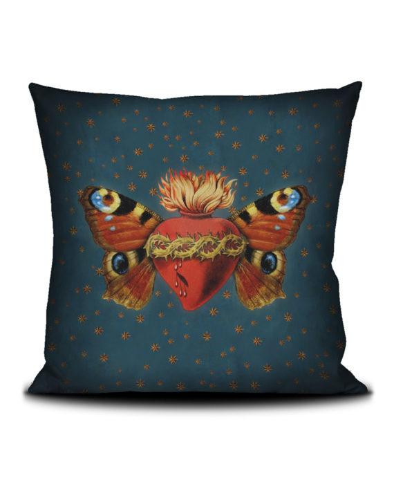 Voglio Bene - Papillon Sacré Housse de Coussin 50x50