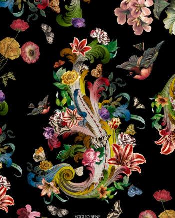 Voglio Bene - Fleur de Rocaille Print