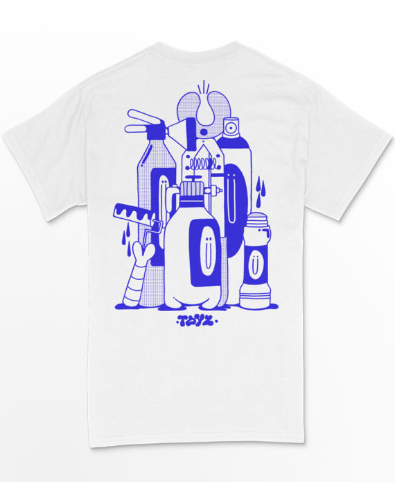 Aka Boku Toyz T Shirt imprimé Cercle Rouge Store Montpellier