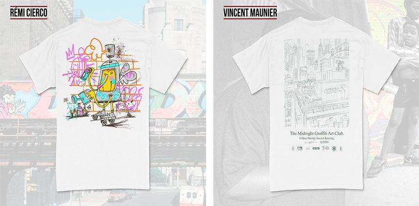 Challenge creation t Shirt Print Tees Granit Shop Montana Cercle Rouge montpellier culture graffiti