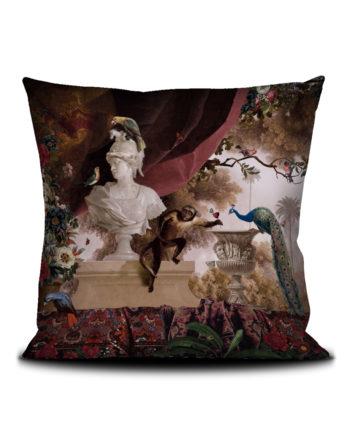 Voglio Bene - Jardin Oriental Housse de Coussin 50x50