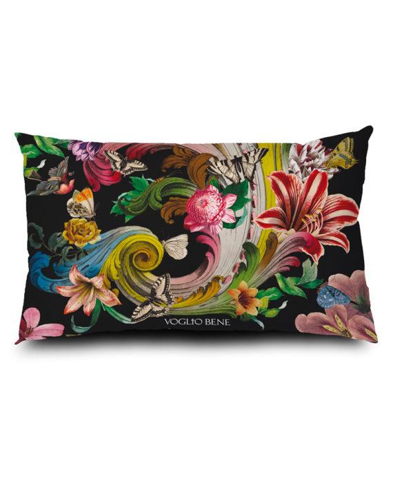 Voglio Bene - Fleur de Rocaille Housse de Coussin 40x65