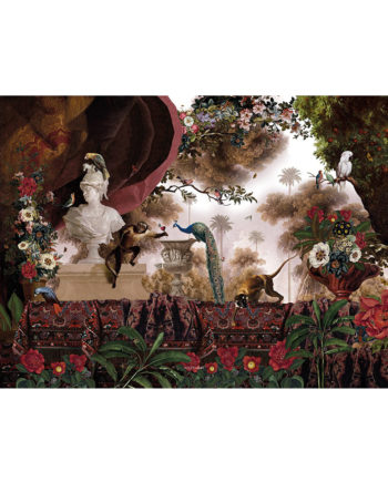 Voglio Bene Jardin Oriental print