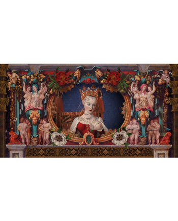 Voglio Bene - Cosmic Girl - Tenture 144 x 250