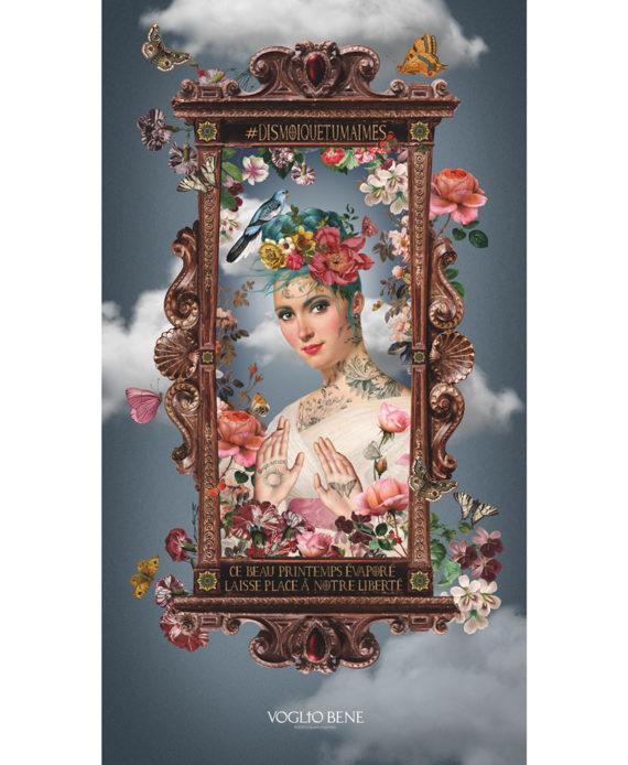 Voglio Bene - Le Printemps - Tenture 144 x 250