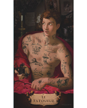 Voglio Bene - Le Tatoueur - Tenture 144 x 250