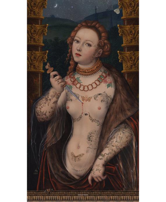 Voglio Bene - Lucretia - Tenture 144 x 250
