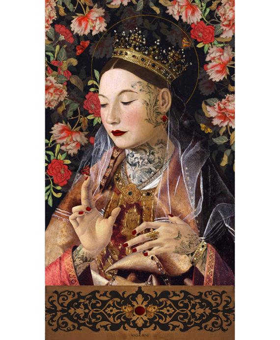 Voglio Bene - Messina - Tenture 144 x 250