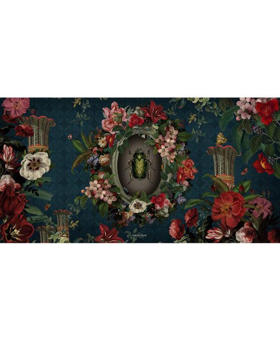 Voglio Bene - Scarabée - Tenture 144 x 250