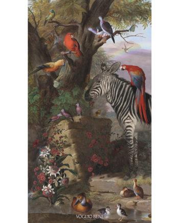 Voglio Bene - Zèbre et Cie - Tenture 144 x 250
