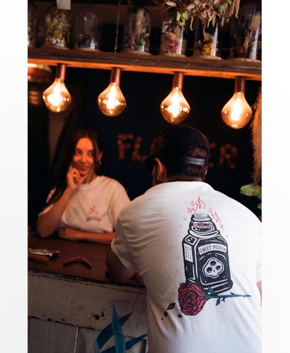 NAZU T Shirt Sweet Poison Exclusivité serie limitée Cercle Rouge Montpellier