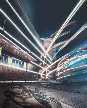 Dr Speed Artstation 2021 Print Logan Edition limité 30x40