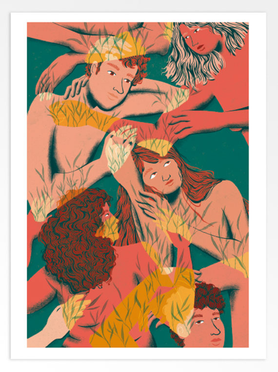 Liana Raberanto Réciproque Print Artstation 2021